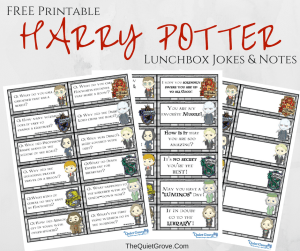 Free Harry Potter Party Printables The Quiet Grove