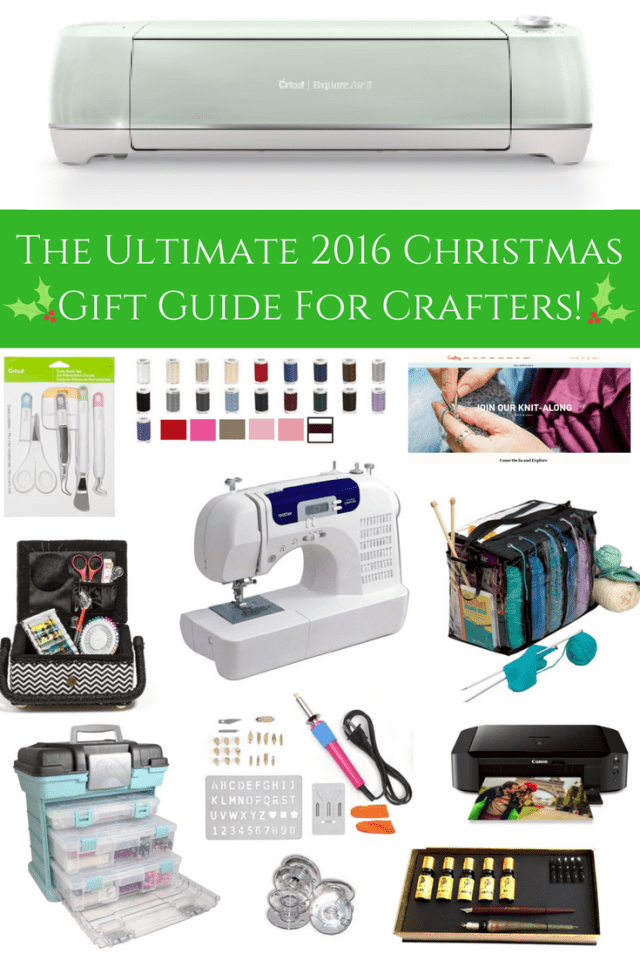 The Ultimate 2016 Christmas Gift Guide For Crafters!
