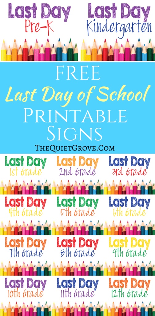 This is an image of Terrible Last Day of School Printable