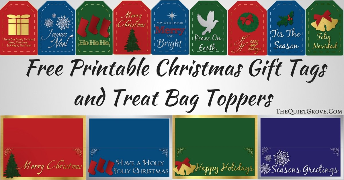 It is a graphic of Free Printable Bag Toppers in school