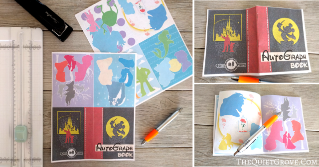 Are You Looking For A Fun Autograph Book Your Upcoming Family Vacation To Disneyland