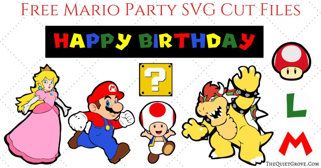 diy super mario birthday party with