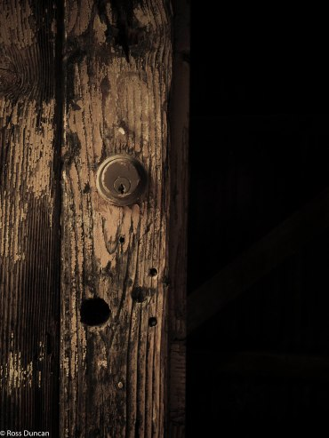 Locked, but open