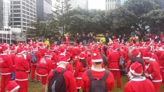 Santa run!