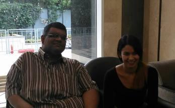 Melanie and Shakthi
