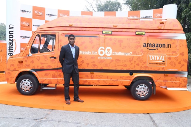 Gopal Pillai - Director & GM - Seller Services, Amazon India, launched Amazon Tatkal