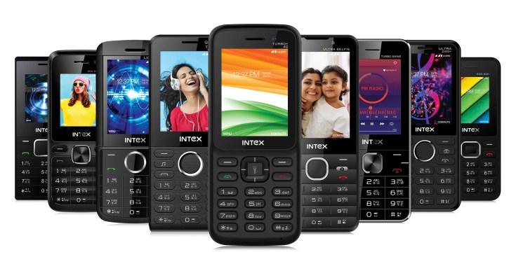 Intex feature phones