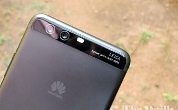 Huawei P10 Plus Rear View