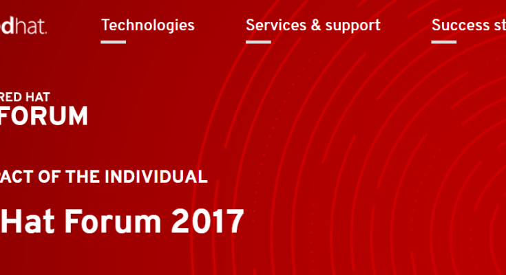 Red Hat Forum APAC 2017