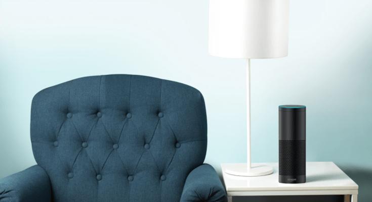 Amazon Echo Plus On The Table