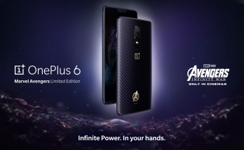 OnePlus 6 X Avengers Edition