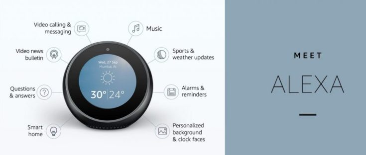 Echo spot features