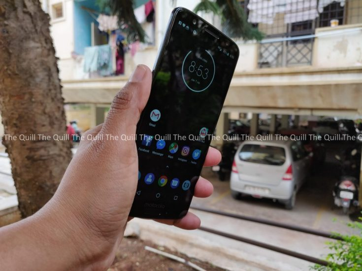 Moto G6 Display
