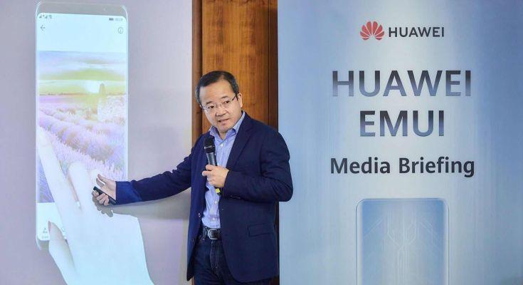 EMUI 9.0 media event onsite 2