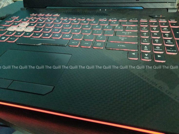 ASUS ROG STRIX Scar II Keyboard