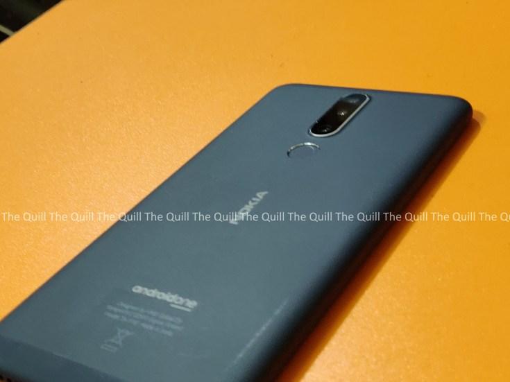 Nokia 3.1 Plus Rear View