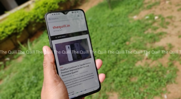 OnePlus 6T Front View