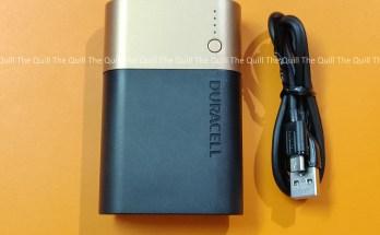 Duracell PB10050 5002732 10050mAH Lithium Ion Powerbank