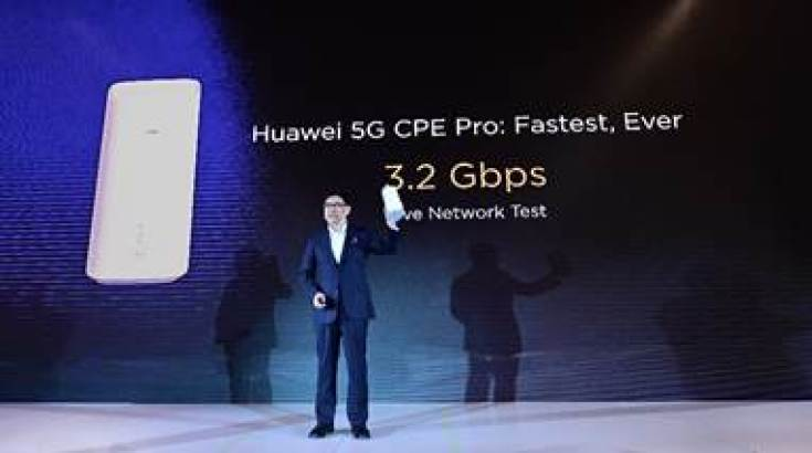 Huawei 5G Chip Launch event