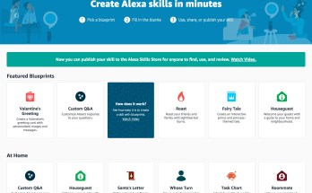 Create Alexa skills in minutes