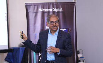 Jaganathan Chelliah, Director Channel Marketing, Western Digital India at a channel brieifng event in Delhi (1)