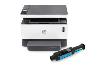 HP Neverstop 1200 with toner