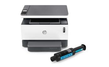 HP Neverstop 1200 with toner
