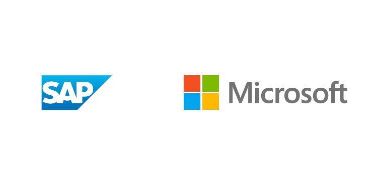 SAP Microsoft Logos