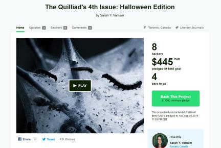 quilliad kickstarter issue 4