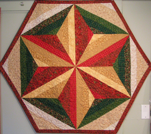 Quilted Christmas Tree Skirt Kits