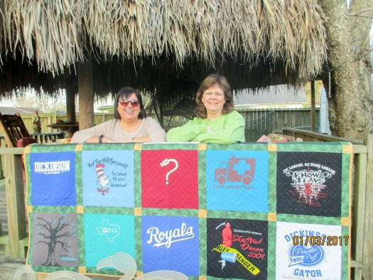 Creating an Heirloom, T-shirt quilts keep memories in a useful form