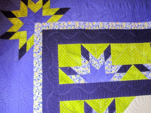 Longarm quilting designs by Karen Overton