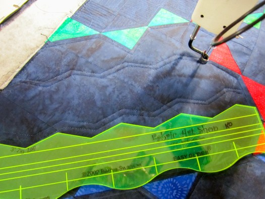 Longarm Rulers used in Modern Quilting