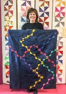 Modern Quilt design by Karen Overton
