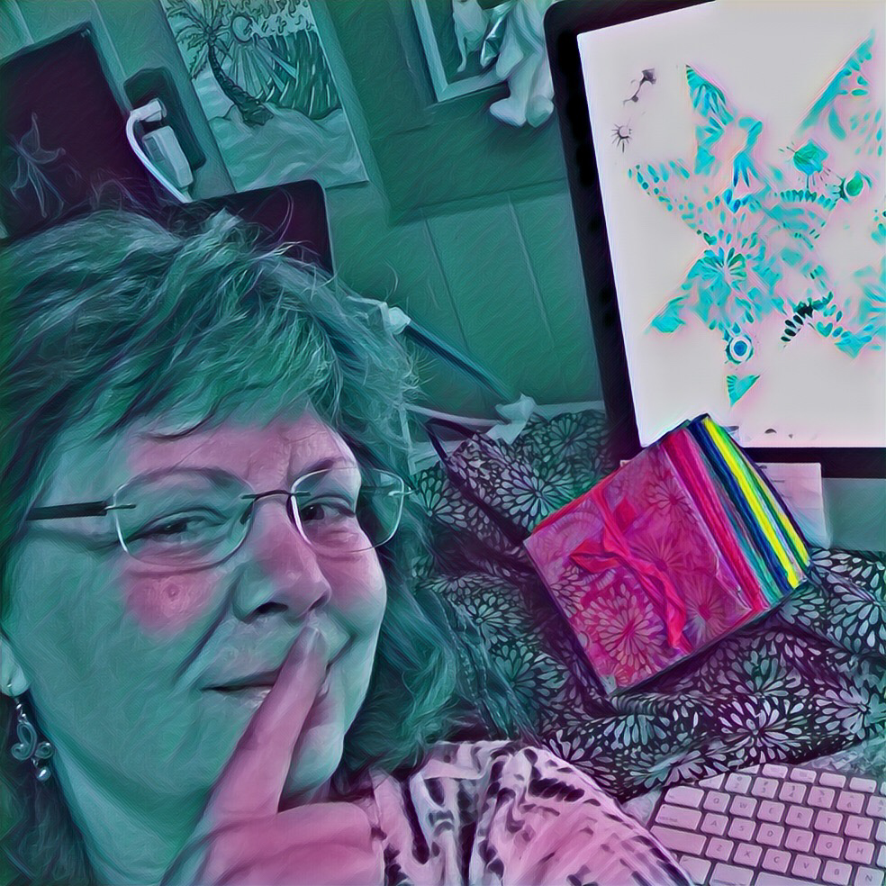 Karen Overton, The Quilt Rambler, is about to embark on a secret sewing mission