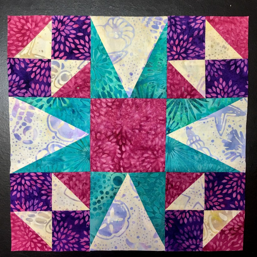 Block made by Karen Overton Using Studio 180 Design Rulers for Certified Instructor Application