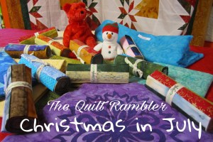 Christmas in July for Island Batik Ambassador The Quilt Rambler