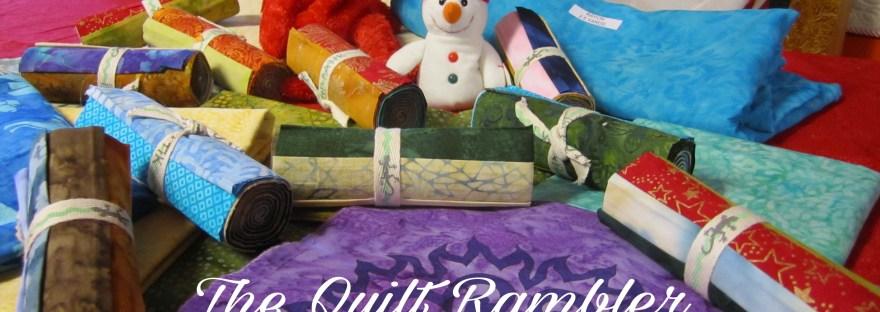 Christmas in July for Island Batik Ambassador The Quilt Rambler