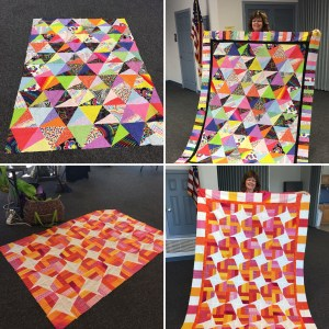 The Quilt Rambler UFO projects
