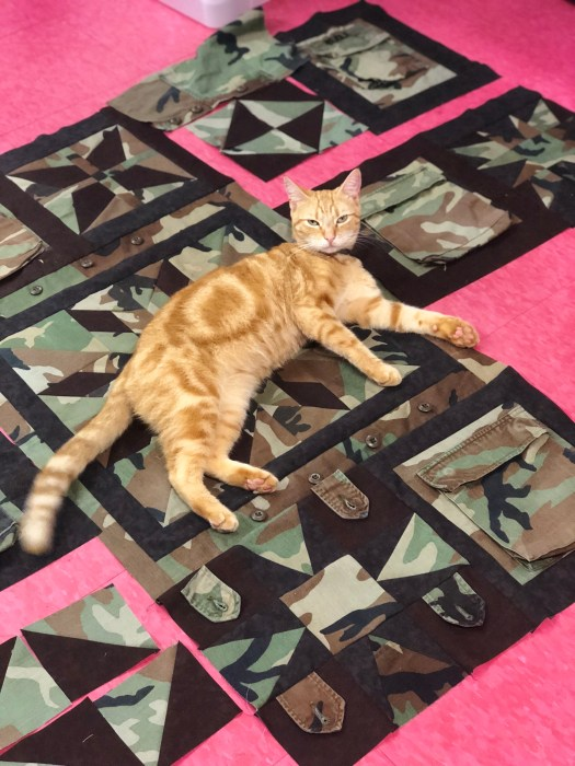 Military Quilt by The Quilt Rambler