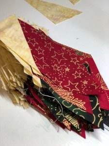 Island Batik Christmas Fabric In The Worlds