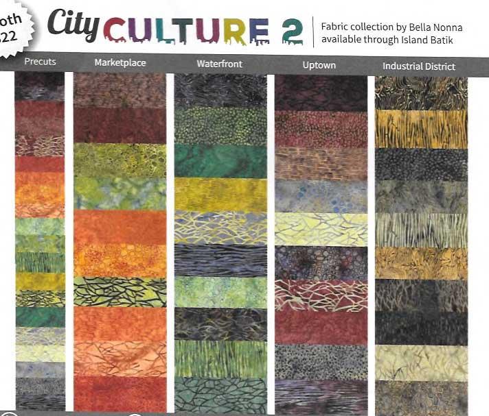 City Culture 2 by Island Batik