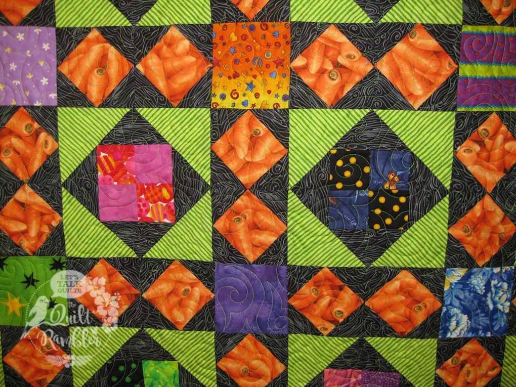 My Dangling Carrot quilt designed by Karen E Overton The Quilt Rambler 2008