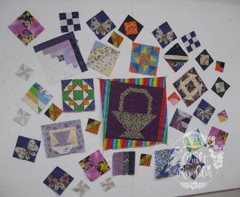 Orphan Blocks are great beginnings for a new quilt