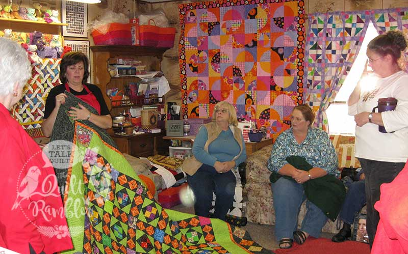 Show and Tell of My Dangling Carrot Quilt by Karen Overton