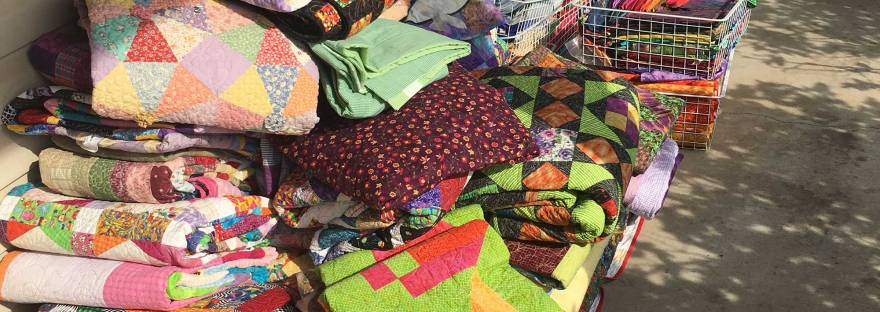 A collection of The Quilt Rambler's Quilts
