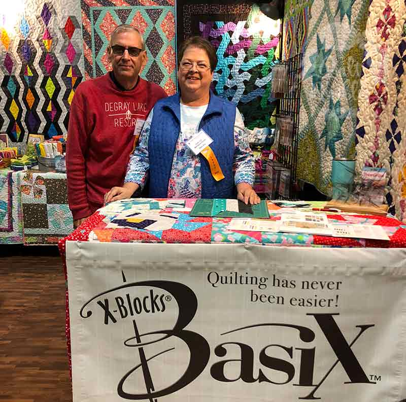 Quilt Show where friends gather