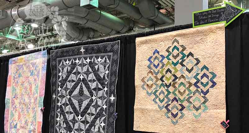 Studio 180 Design quilts on display at the Beaumont Quilt Show