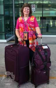 Karen Overton, The Quilt Rambler has packed her bags and is ready to talk quilting