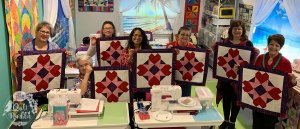 Land Locked Quilt Cruise Students
